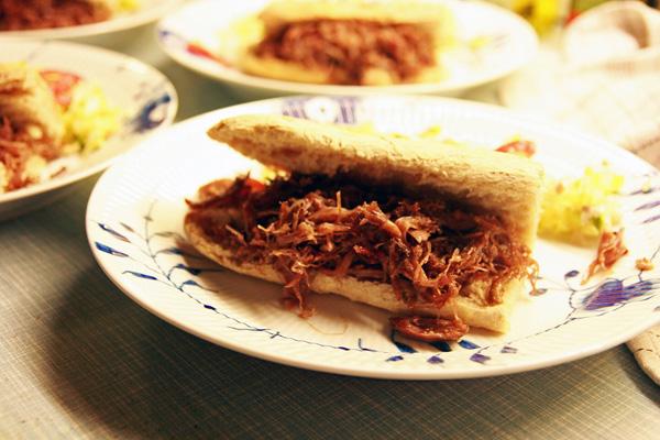 Confit de Canard sandwich