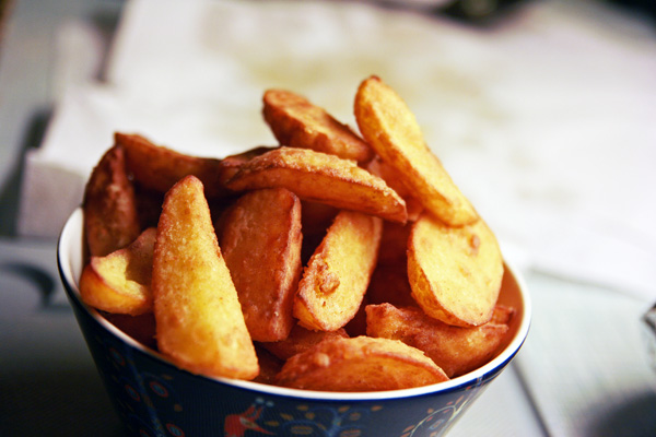 Hjemmelavede Dobbeltstegte Pommes Frites