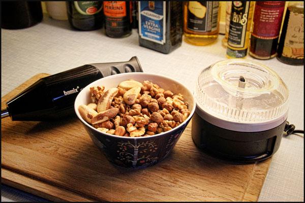 Bamix minihakker og nødder