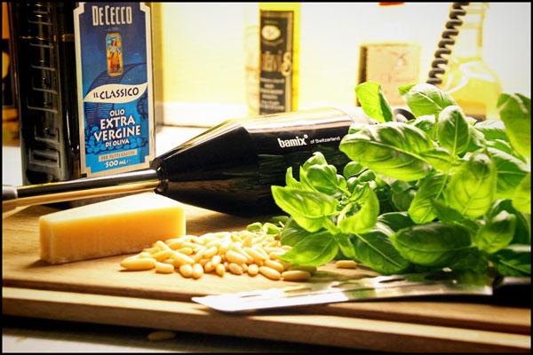 Pesto og Bamix