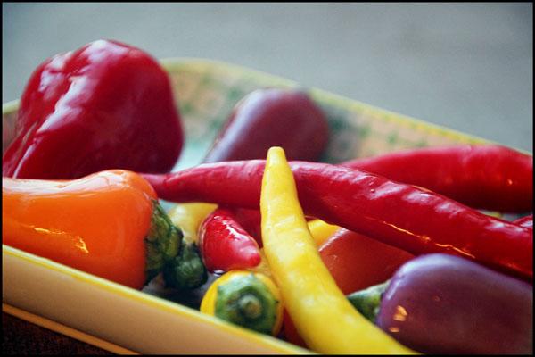 Blandede chili