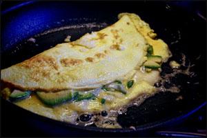 Omelet der steges